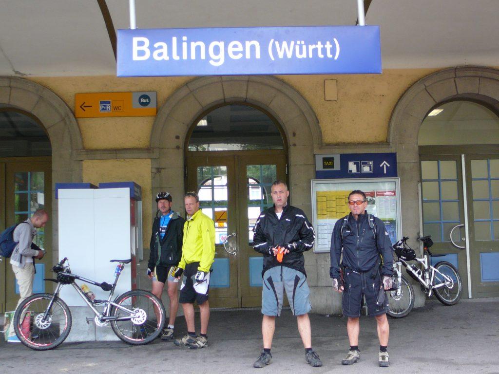 von Balingen zurück nach Ebersbach