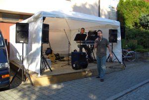 Livemusik mit Daniel und Steffen