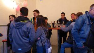 Party im alten Gemeindehaus