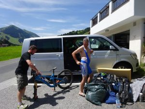 Ausflug der MTB-Gruppe nach Saalbach-Hinterglemm