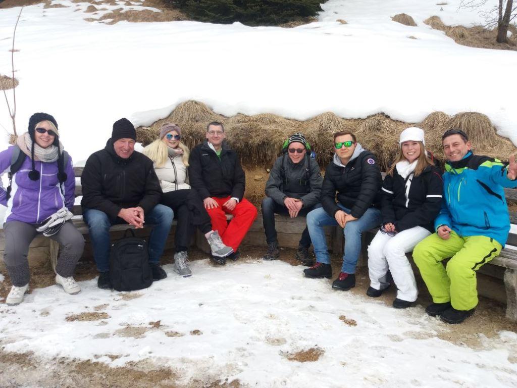 Gruppenbild der Wanderer