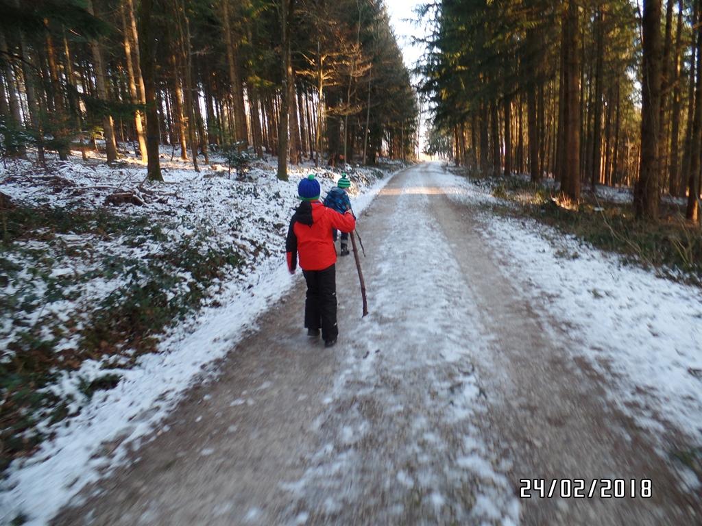 Auch Kinder waren bei der Wanderung dabei