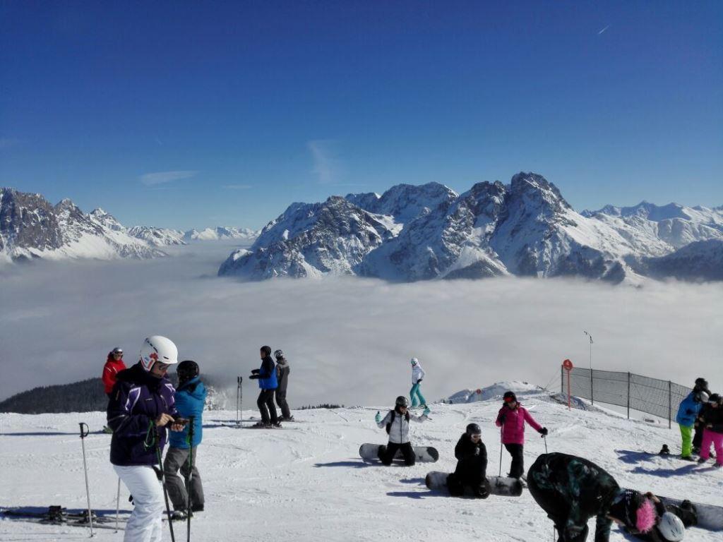 Top Wetterbedingungen auf dem Gipfel