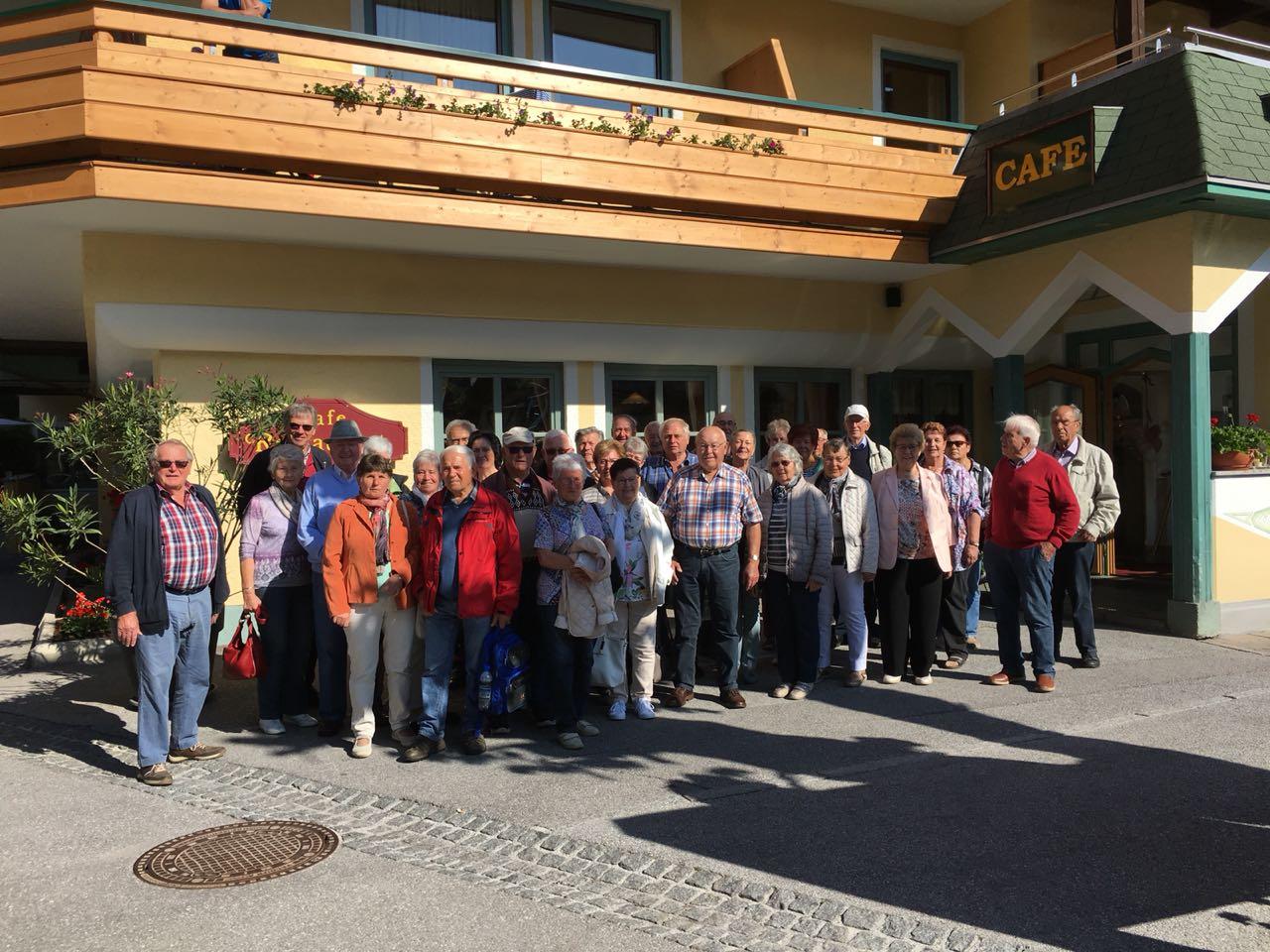 Gruppenbild Pfingstausfahrt 2018